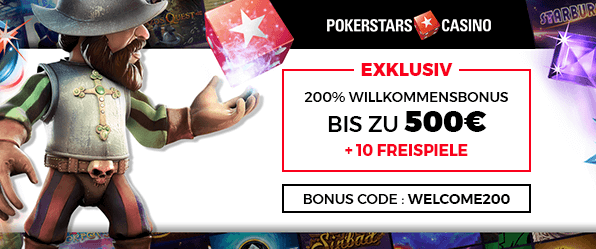 PokerStars Casino-Bonus