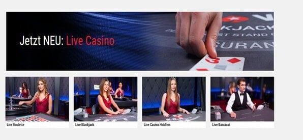 Das PokerStars Live-Casino ist ein echtes Erlebnis.