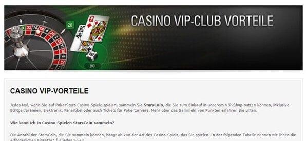 Der Casino VIP Club lohnt sich!