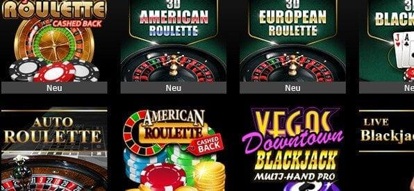 Roulette-Angebot auf casino.bwin.com/de