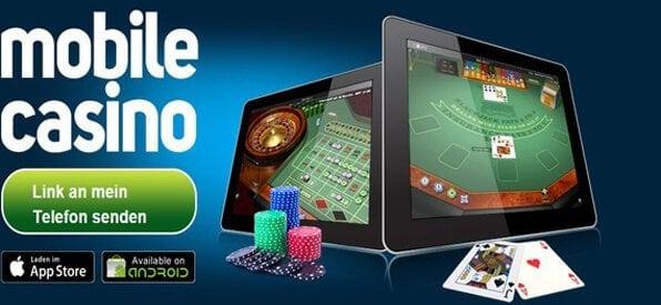 Das Roxy Casino kann auch von unterwegs gespielt werden.