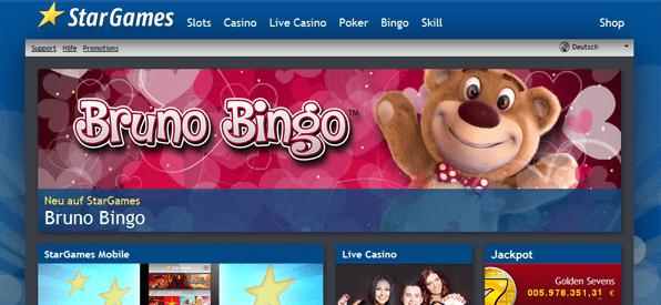 Vielseitiges Casino Angebot bei Stargames