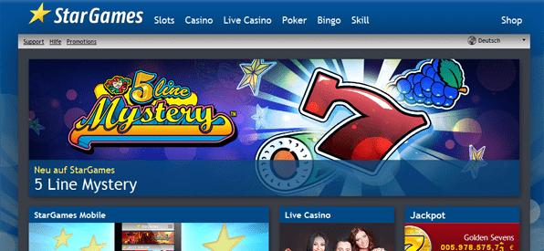 Eine große Auswahl an Casino Spielen aller Art