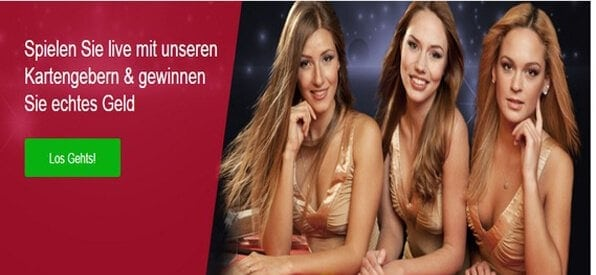 Das Live_Casino wird von kompetenten und attraktiven Dealern moderiert.