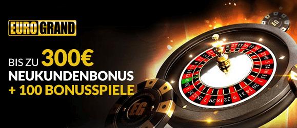 Eurogrand 300€ Bonus
