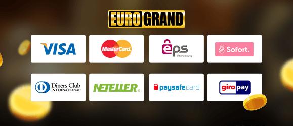 Zahlungsmethoden Eurogrand