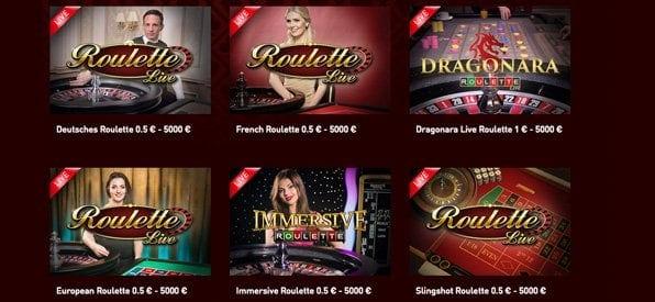 CasinoClub Spiele