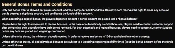Casinovo_Bonus_Auszahlung