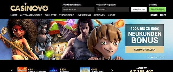 Casinovo Bonus