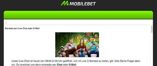 Mobilebet_Casino_Kundensupport