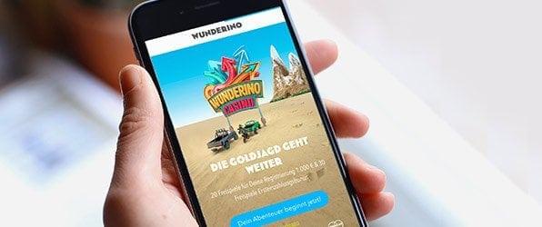 Wunderino Casino Mobil