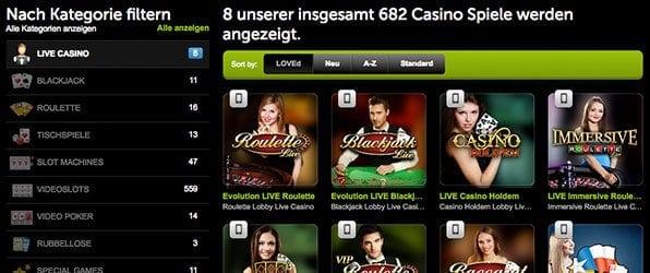 comeon_casino_Spieleangebot2