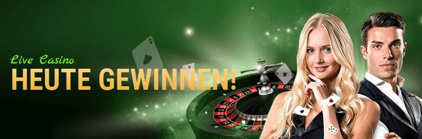 Live bei Online Casino Spielen gewinnen