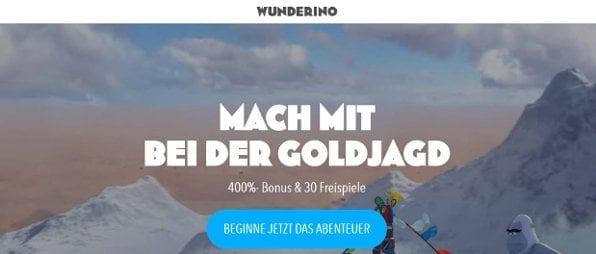 Der Wunderino-Casino 400% Bonus