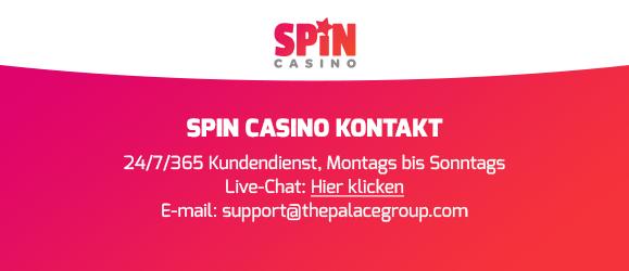 spin casino kontakt