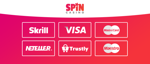 spin casino zahlungsmethoden