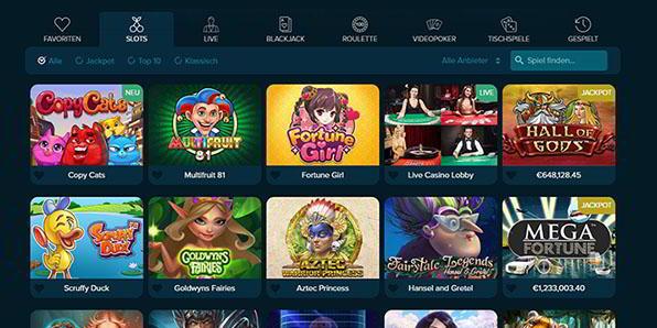Casinoland Spiele Angebot
