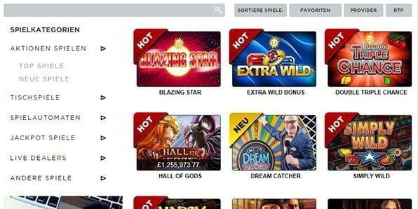 21 Casino Angebote