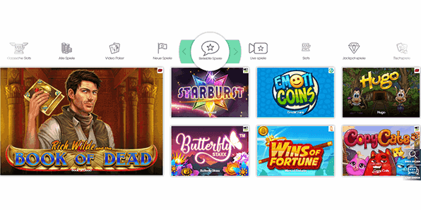 Sloty Casino Spiele Angebot
