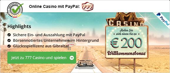 Online Casino Mit Paypal