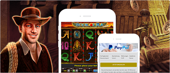 Book of Ra Casino mit PayPal