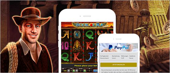Book of Ra Casino mit PayPal