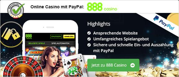 Online Casino Mit Paypal 2021