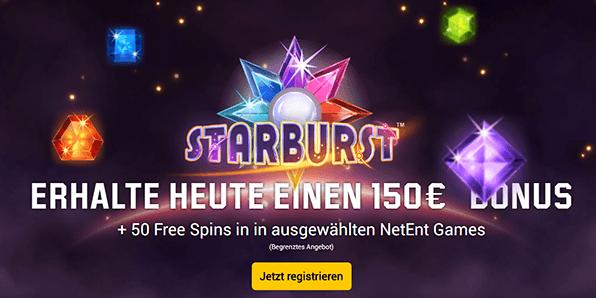 Unibet Casino Bonus auswählen