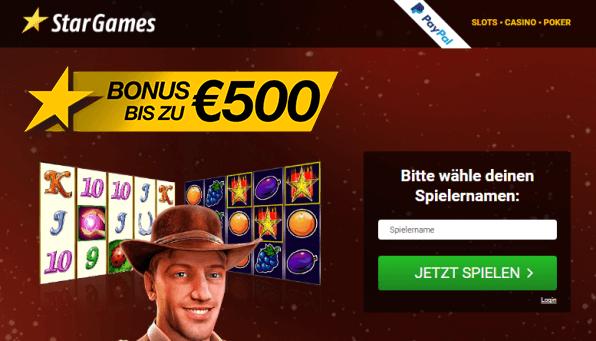Stargames Bonus
