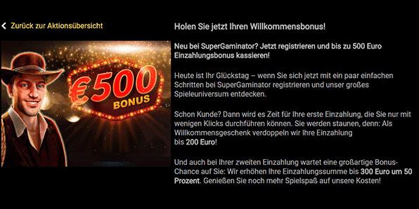 Supergaminator Bonus