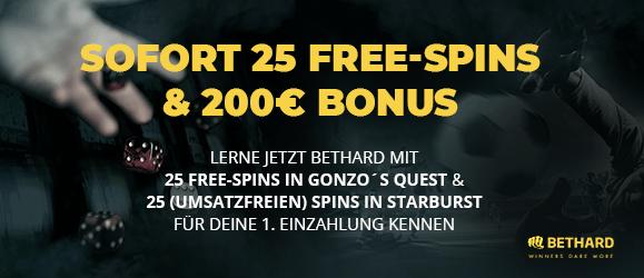 Bethard Casino Bonus Code