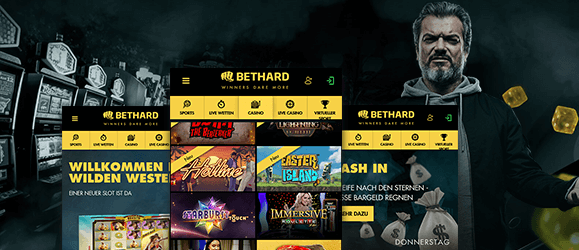Bethard Casino mobil