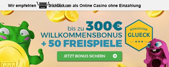 Online Casino ohne Einzahlung Empfehlung