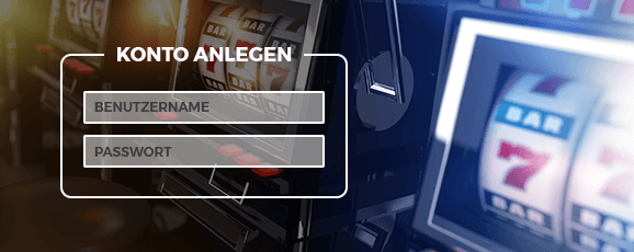 Casino Online Konto anlegen
