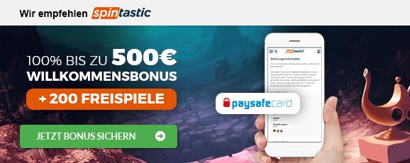 Casino paysafecard Emfpehlung