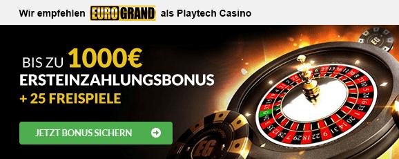 Playtech Casino Empfehlung
