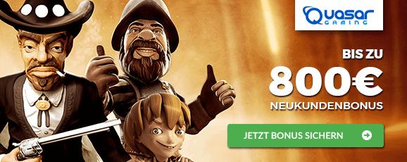 Quasar Gaming Bonus Code