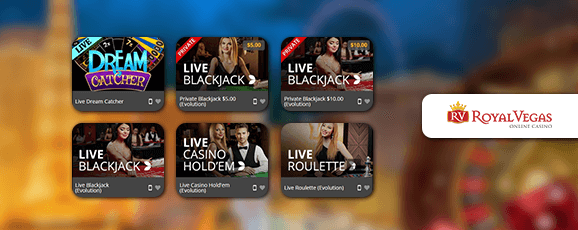 Royal Vegas Livecasino