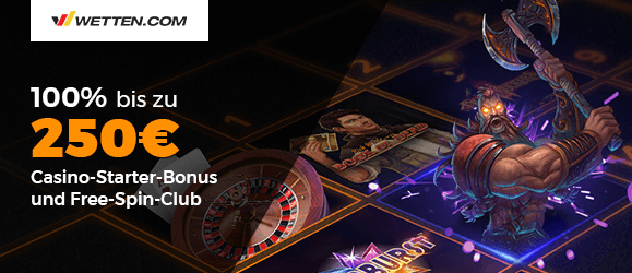 wetten.com Casino Bonus