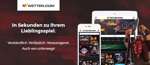 wetten.com Casino App