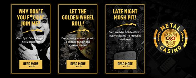 Metal Casino Promotion