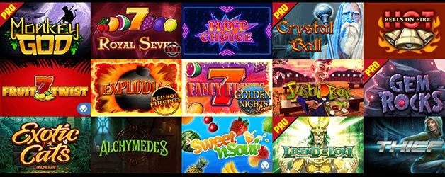 Boom Bang Casino Spiele