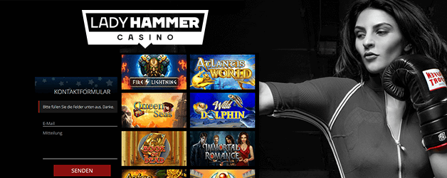 Lady Hammer Casino Mobil