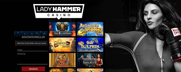 Lady Hammer Casino Mobil