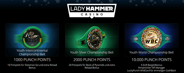 Lady Hammer Casino Promotion