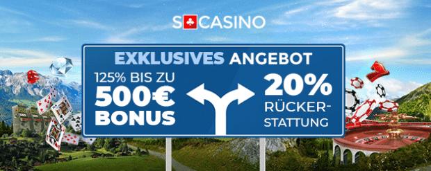 SCasino Bonus Codes 2021