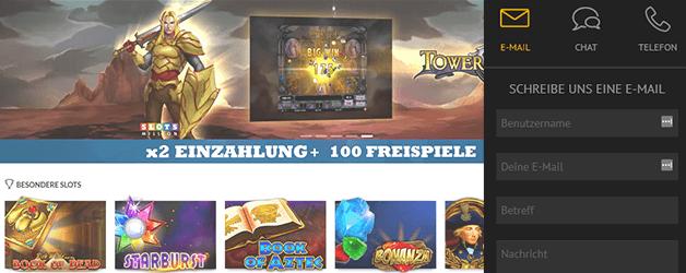 Slotsmillion Casino Kundensupport