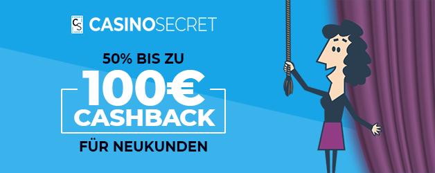 Casino Secret Cashback 100