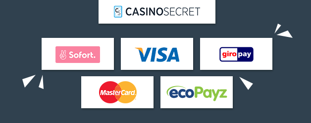 CasinoSecret Zahlungsmethoden