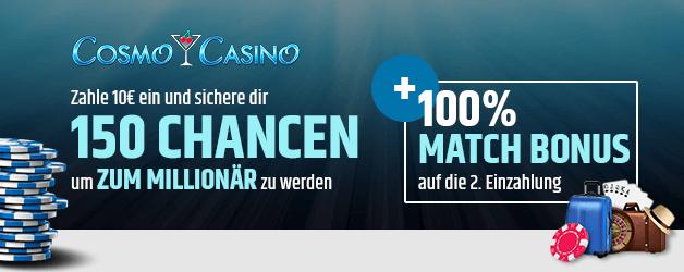 Cosmo Casino Bonus